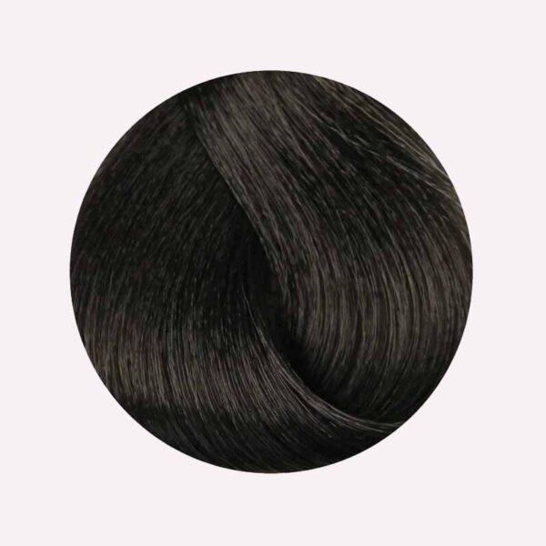 Βαφή μαλλιών 10 λεπτών 4.71 Καστανό καφέ ψυχρό Color zoom 100ml Color zoom