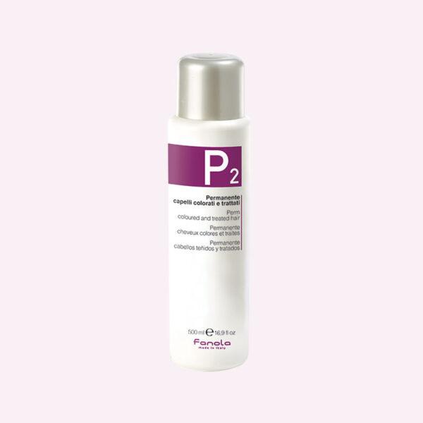 Φάρμακο Περμανάντ για βαμμένα μαλλιά P2 500ml Fanola
