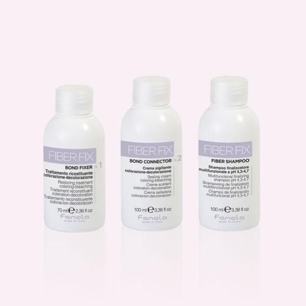 Kit ενδυνάμωσης των μαλλιών Fiber Fix