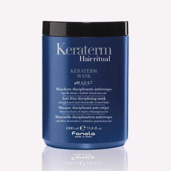 Μάσκα μαλλιών λείανσης με κερατίνη 1000ml Keraterm