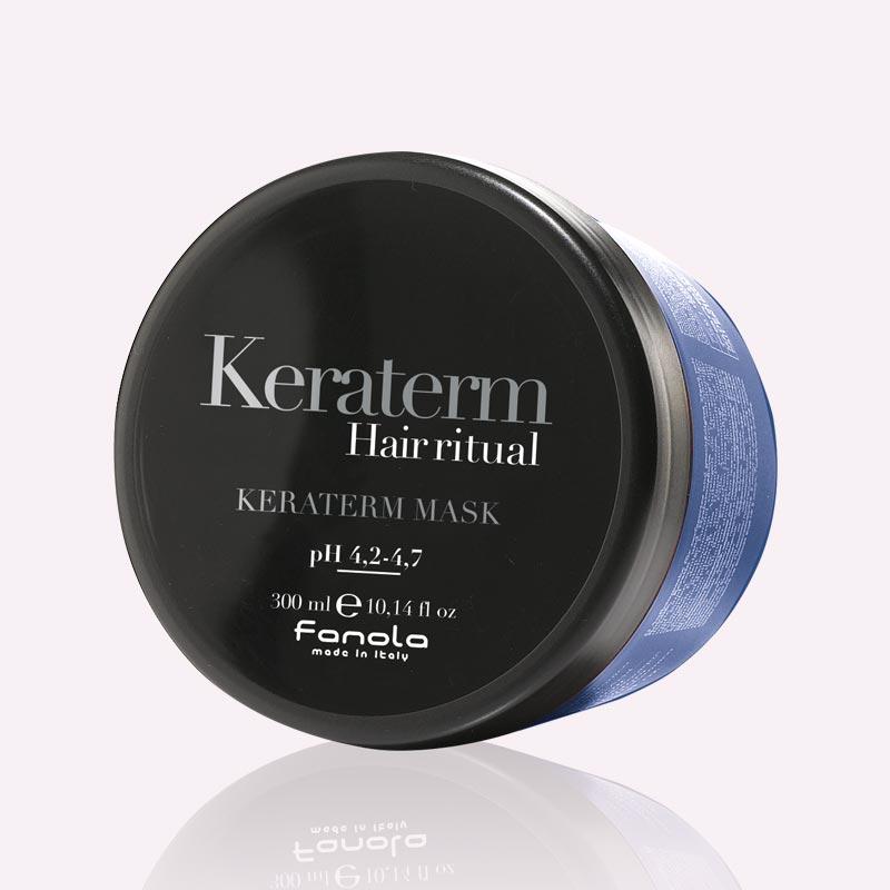Μάσκα μαλλιών λείανσης με κερατίνη 300ml Keraterm