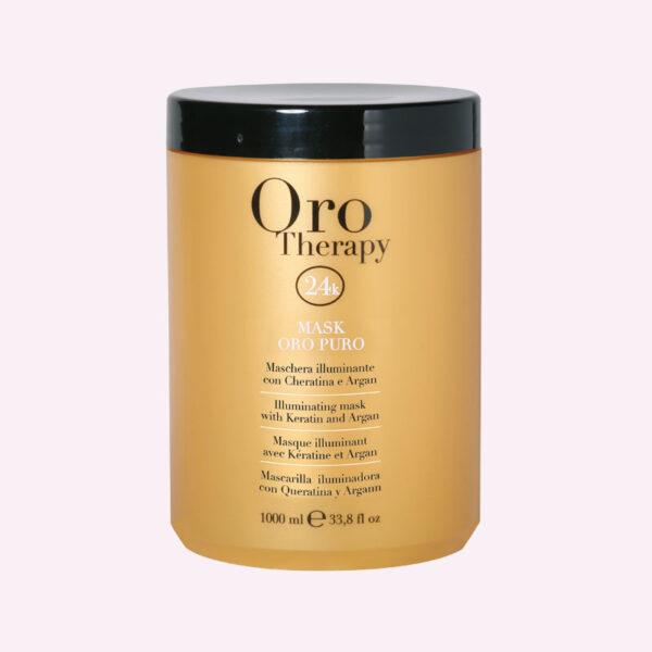 Μάσκα μαλλιών για ενυδάτωση και λάμψη 1000ml Oro Therapy