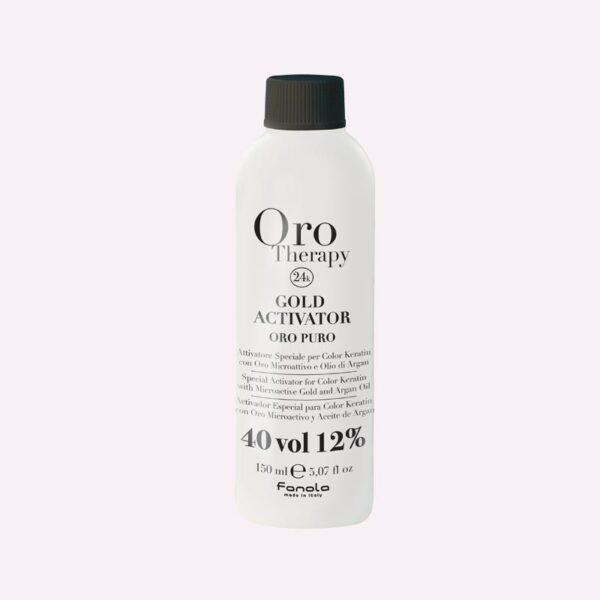 Οξυζενέ Oro 40vol 150ml για βαφή χωρίς αμμωνία