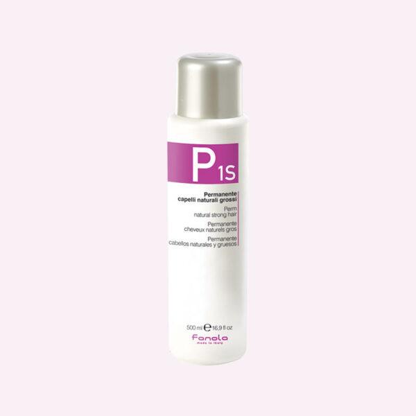 Φάρμακο Περμανάντ P1S για φυσικά δύσκολα μαλλιά 500ml Fanola