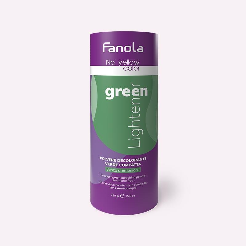 Ντεκαπάζ πράσινο σε σκόνη χωρίς αμμωνία 450gr No yellow color