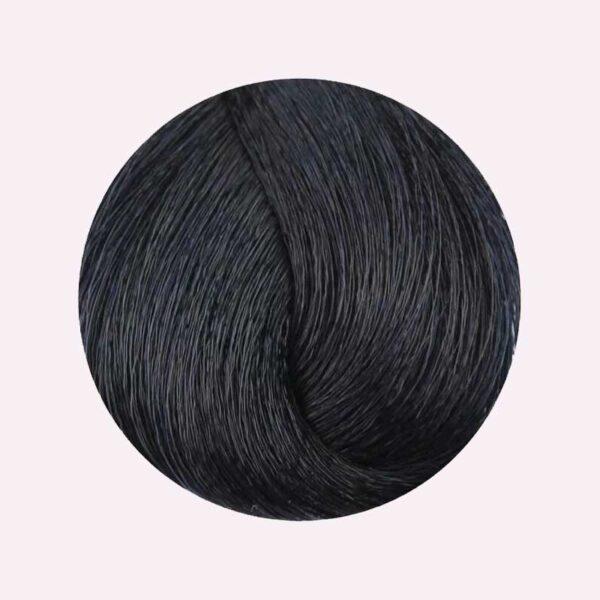 Βαφή μαλλιών 1.10 Μαύρο μπλέ 100ml Fanola Color