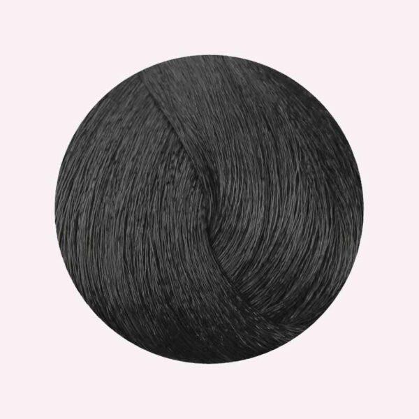 Βαφή μαλλιών 1.0 Mαύρο 100ml Fanola Color