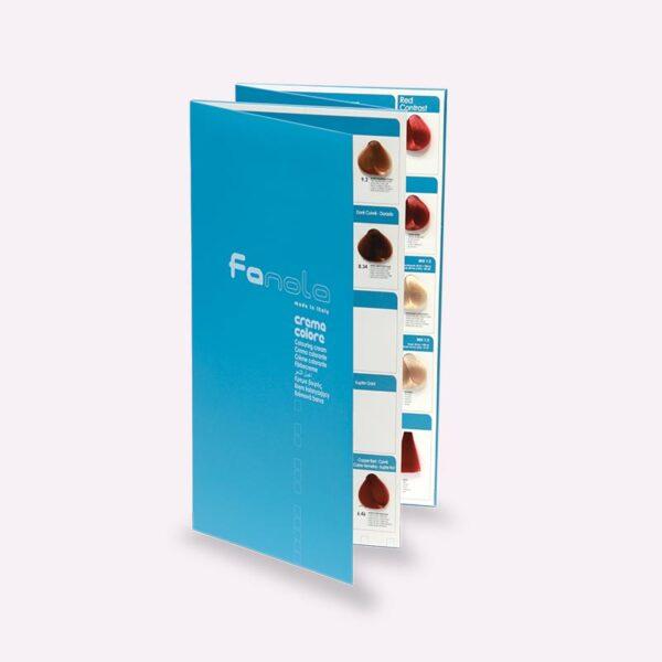Χρωματολόγιο για βαφές μαλλιών Fanola Professional