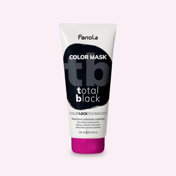 Μάσκα με χρώμα Μαύρο 200ml Fanola Color Mask