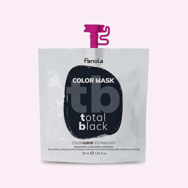 Χρωμομάσκα Μαύρο 30ml Fanola Color Mask