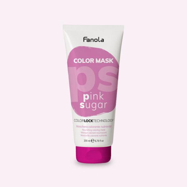 Μάσκα με χρώμα Ροζ 200ml Fanola Color Mask