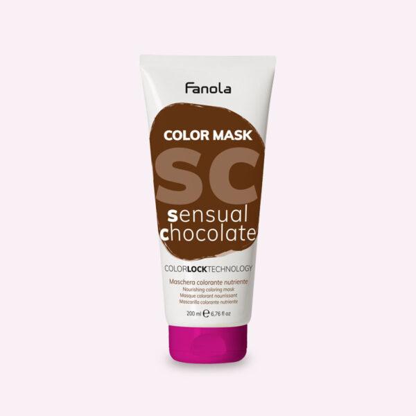 Μάσκα με χρώμα Σοκολατί 200ml Fanola Color Mask