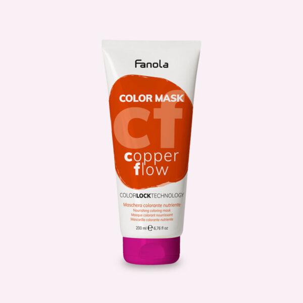 Μάσκα με χρώμα Χάλκινο 200ml Fanola Color Mask