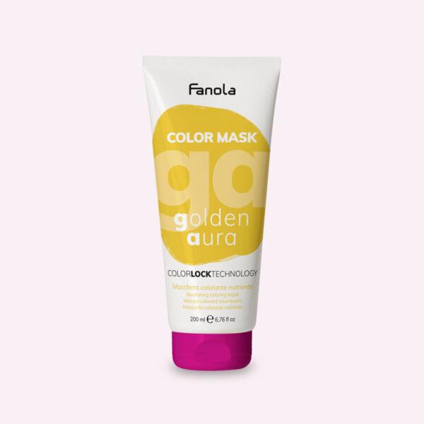 Μάσκα με χρώμα Χρυσό 200ml Fanola Color Mask