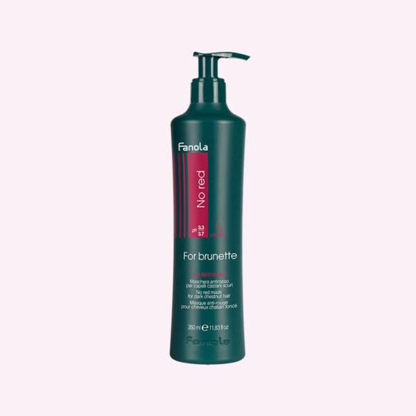Μάσκα No Red 350ml κατά των κόκκινων τόνων σε καστανά μαλλιά