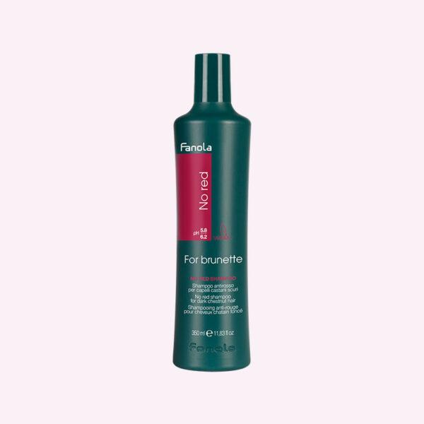 Σαμπουάν κατά των κόκκινων ανεπιθύμητων τόνων σε καστανά μαλλιά 350ml